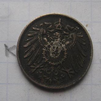 ГЕРМАНИЯ, 5 пфеннигов 1918 г.