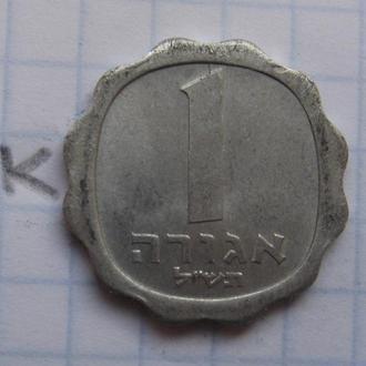 ИЗРАИЛЬ, 1 агорот 1970 года.