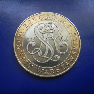 Польша 20000 злотых 1991 Юбилей Монетного двора
