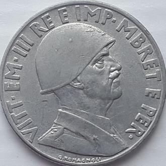 АЛБАНИЯ 1 лек  1939 год ИТАЛЬЯНСКАЯ ОККУПАЦИЯ!!! СОСТОЯНИЕ!!!
