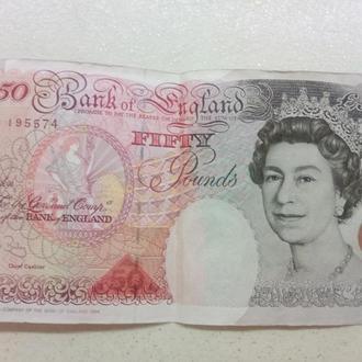 50 фунтов 1994 года