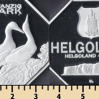 Хелголанд 20 марок 2017