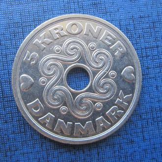 монета 5 крон Дания 2008