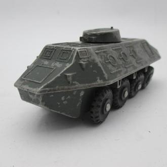 БТР военная техника игрушка СССР №2