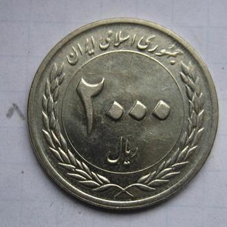 ИРАН, 2000 риалов 2010 года (Центральный банк Ирана. 50-летие).