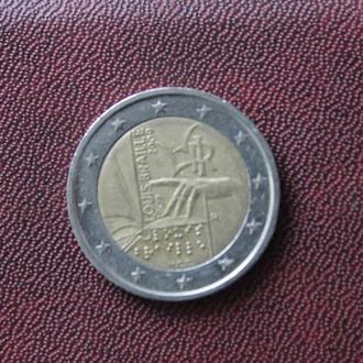 Италия. 2 евро. 2009г.