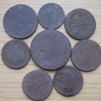 Имперская медь 8 монет уставшие
