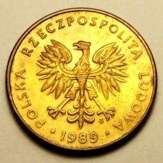 10 злотих 1989 года Польша - СОСТОЯНИЕ !!! - а2