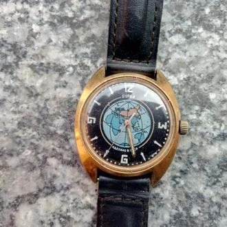 часы Буран AU 10 рабочие СССР на ходу Редкость!
