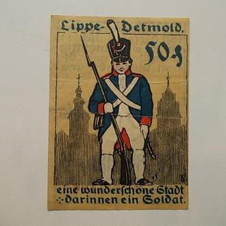 50 пфеннингов 1920 г.