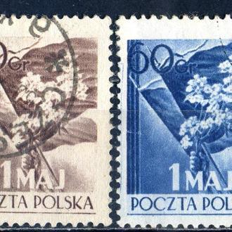 Польша. 1 мая. 1954 г.