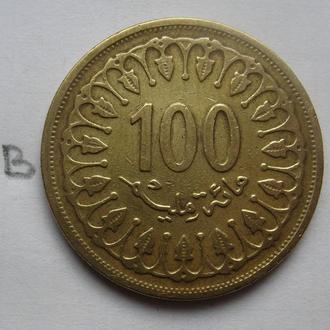 ТУНИС 100 миллим 1993 г.