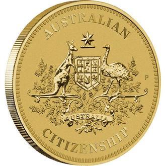 АВСТРАЛИЯ. The Perth Mint. 2013. 1$. Australian Citizenship.