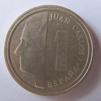 Испания 1 песета 1989