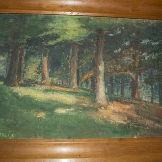 Картина Ліс1943р. Виставкова, конкурсова.