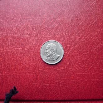 Кения 25 центов 1966 Редкие