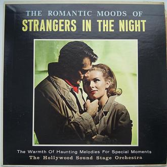 HOLLYWOOD SOUND STAGE ORCHESTRA The Romantic Moods Of Strangers In The Night  LP VG++/VG-