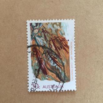 Австралия/ 1971/ рисунки/ исскуство/ живопись/