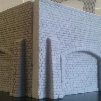 Каменная стена №3 для макета Piko,Roco