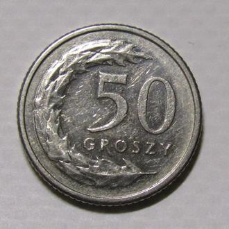 50 гроши 2013 г. Польша.