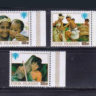 о-в Кука 1979 г  MNH - год ребенка