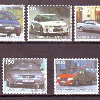 Таджикистан. 1998г. Автомобили