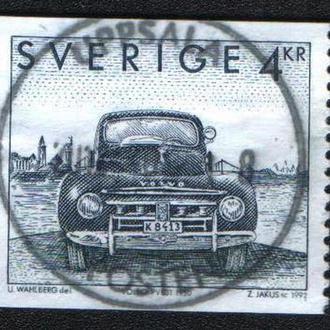 Швеция (1992) Шведские автомобили. Volvo PV831