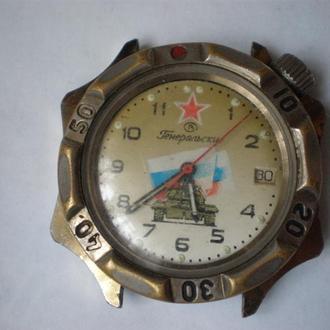 часы Восток Командирские рабочий баланс 140510