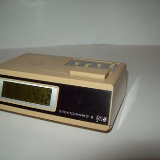 Часы Электроника 2-14 СССР редкие