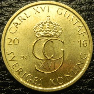 5 крон 2016 SI Швеція