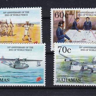 Авиация .  Багамы / Багамские о-ва 1995 г  MNH -