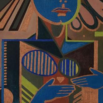 Корж Тарас, Картина Правда, 2013, картон, олія, 80х60