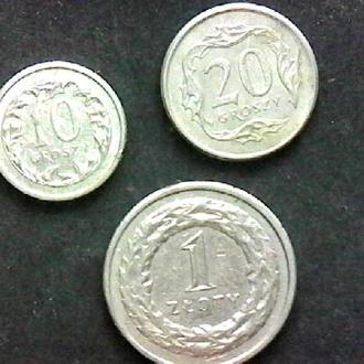 монеты Польщи