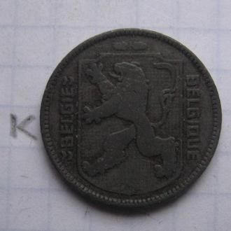 БЕЛЬГИЯ 1 франк 1942 г. (состояние).