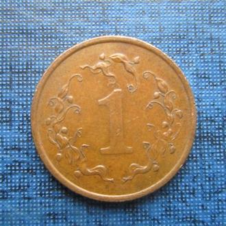 монета 1 цент Зимбабве 1986