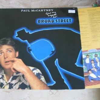 Paul McCartney – Give My Regards To Broad Street  ( Germany ) LP