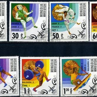 Монголия. Олимпийские Игры-1980*Москва.
