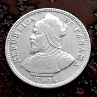 10 сентесимо Панама 1904 состояние!!! РЕДКАЯ!!!