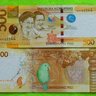 Филиппины 500 песо 2017 UNC