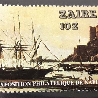 1980. Заир. MNH. Флот