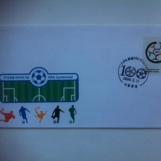 футбол 2004 100 лет ФИФА Корея КПД
