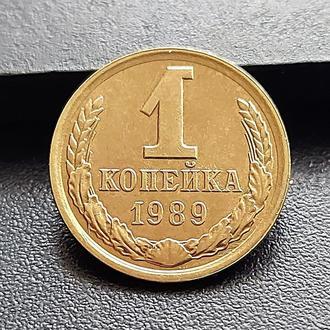 MN СССР 1 копейка 1989 г.