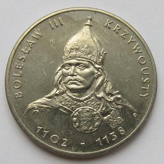 Польша 50 злотых 1982 *Князь Болеслав III Кривоустый*