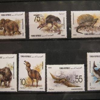 фауна дино динозавры йемен на т