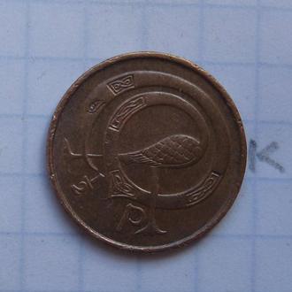 ИРЛАНДИЯ, 1/2 пенни 1971 года.