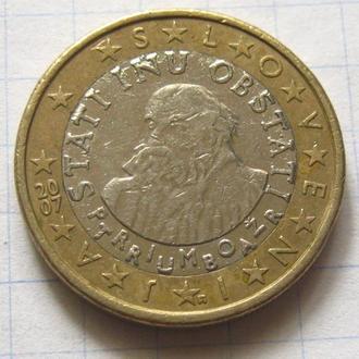Словения_ 1 евро 2007 года  оригинал