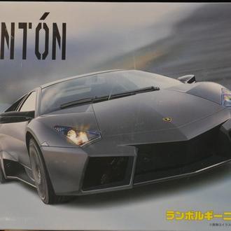 Сборная модель автомобиля Lamborghini  Reventon  1:25 Fujimi