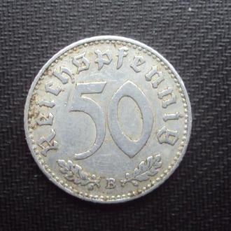 Германия 3-й Рейх 50 рейхспфен. 1943г.B.