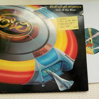 ELECTRIC LIGHT ORCHESTRA - Out Of Blue 2LP + Конструктор . usa