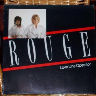ROUGE - LOVE LINE OPERATOR (ex- Arabesque)  12 дюймов сингл немецкого евро-диско проекта!